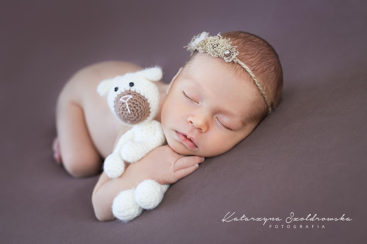 fotografia noworodkowa dziewczynki krakow